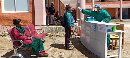 NTNUs julegave går til koronatesting i Nepal