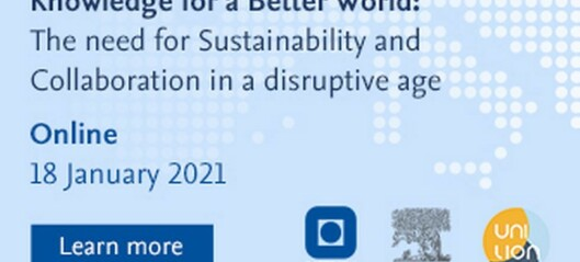 The need for Sustainability and Collaboration in a disruptive age