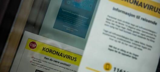 Tre nye smittetilfeller - 90 i karantene