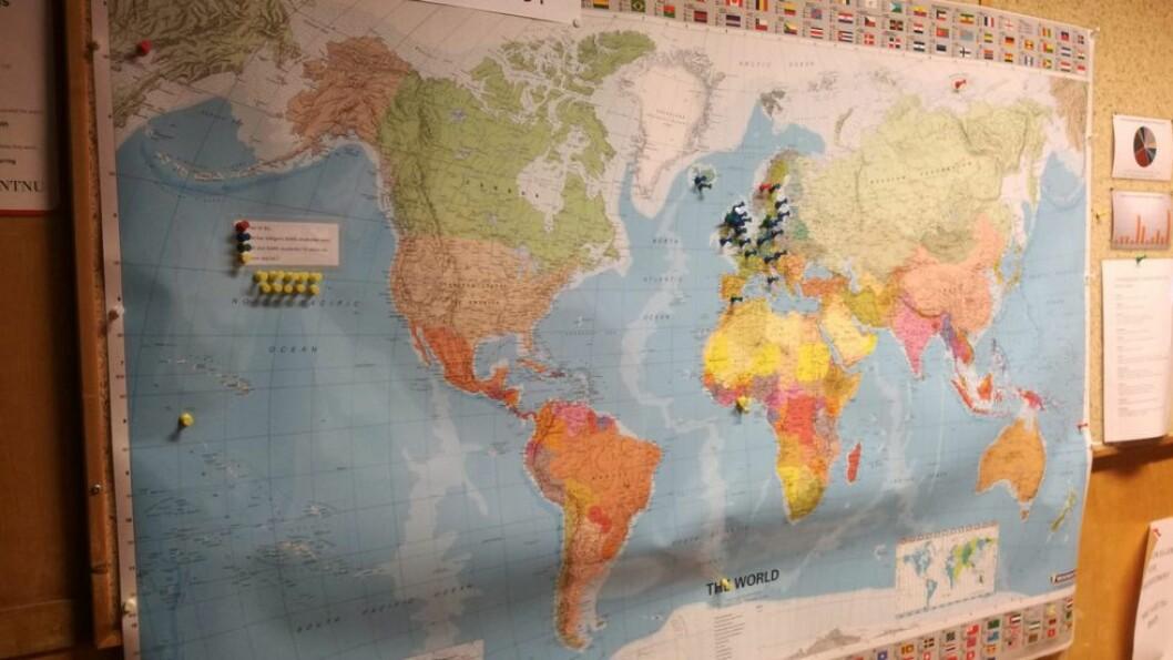 Hvor skal du? Målt i absolutte tall dro flest NTNU-studenter på utenlandsopphold i fjor.