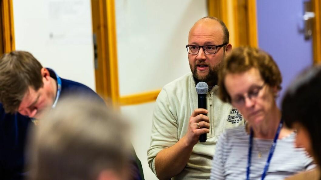 Thomas Ferstad er nestleder i NTL NTNU. De krever nå en grundig gjennomgang av situasjonen i Fellesadministrasjonen.