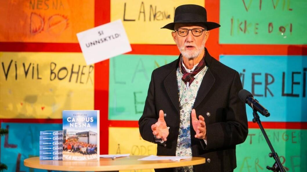 Professor emeritus Sigurd Allern var lite begeistret for retorikken hos enkelte politikere og hovedstadsmedier.