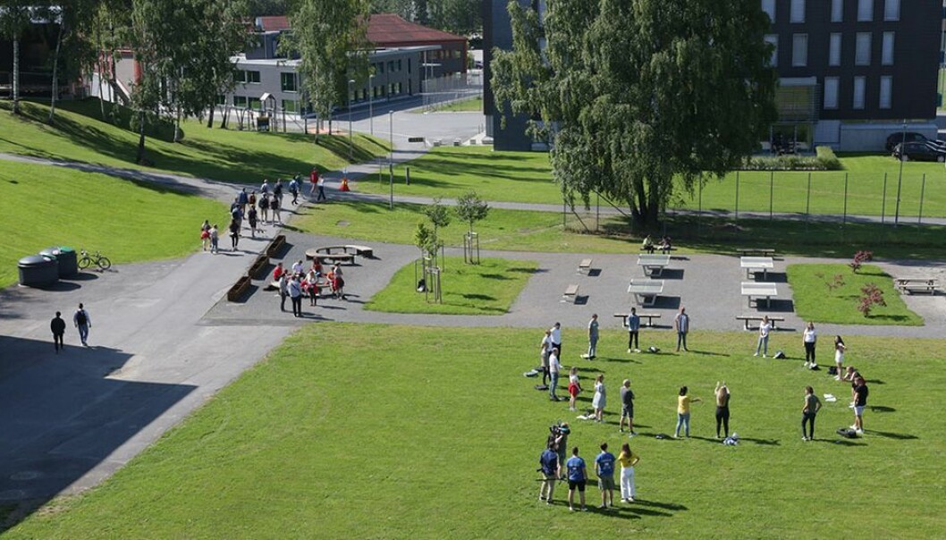 Studentene i Gjøvik må ta eksamen på nytt i januar.