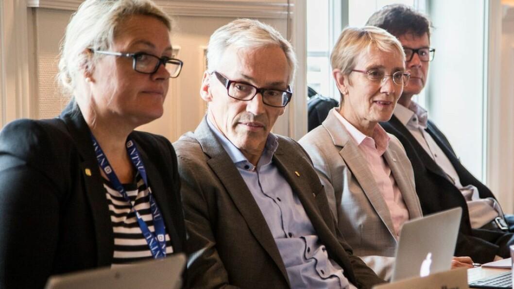 Toril A. Nagelhus Hernes og Bjarne Foss ønsker å fortsette som prorektorer.