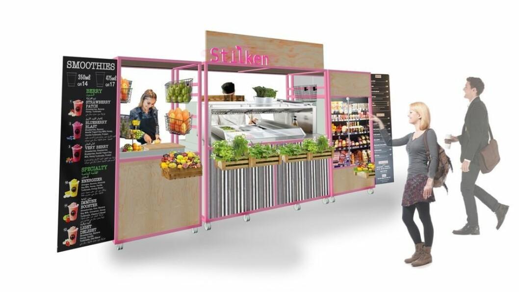 Stilken, et vegetar-og plantebasert pop-up tilbud fra Sit, lanseres på campus i løpet av første halvår av 2021.