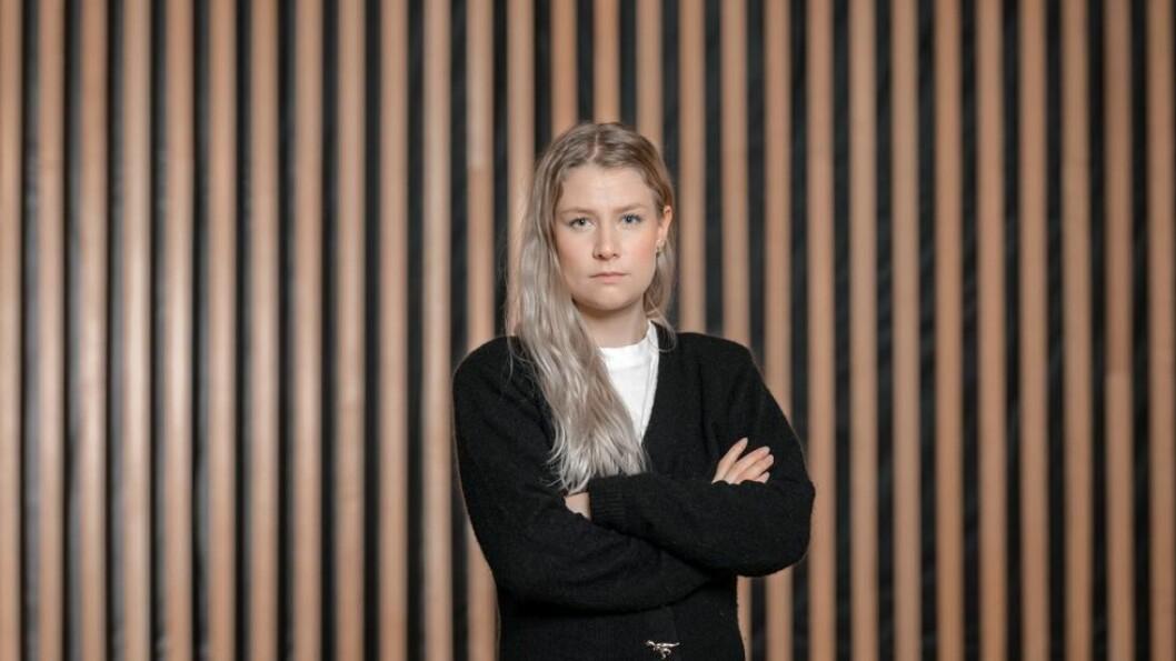 Iril Myrvang Gjørv, leder av Unio-studentene, representerer 40 000 studenter.