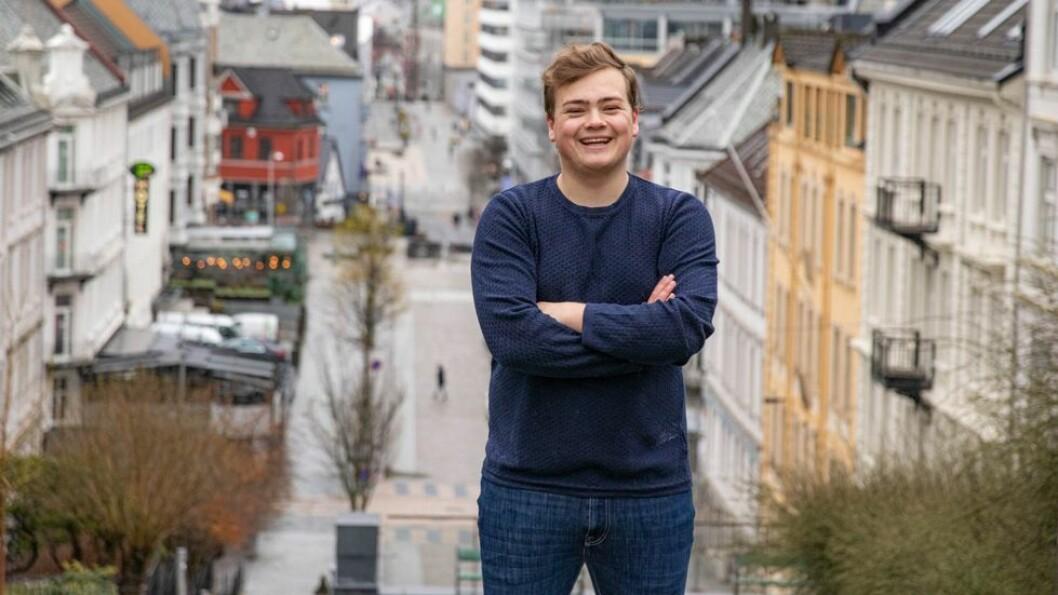 NSO-leder Andreas Trohjell studentene ikke ble hørt under årets studentpolitiske toppmøte.