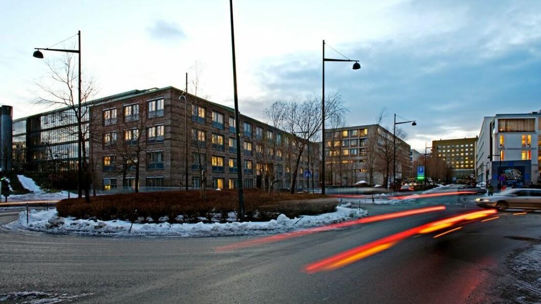 Smittet student var innom campus Øya på mandag.