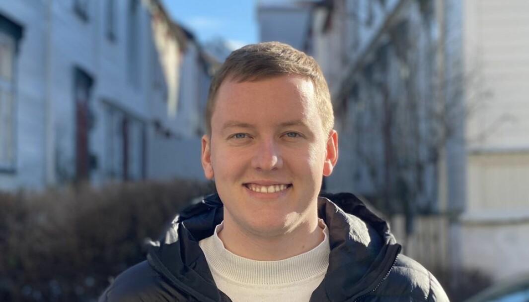 Andreas Knudsen Sund startet i jobben som leder av Studenttinget på mandag.