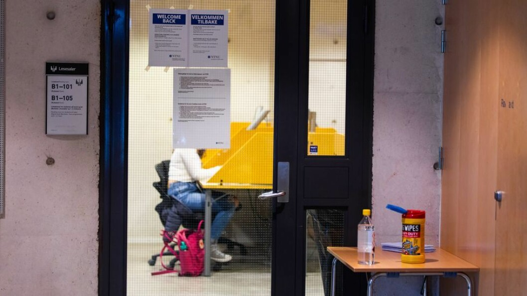 Studenter som har vært ved to ulike lesesaler ved NTNU bes teste seg mot korona.