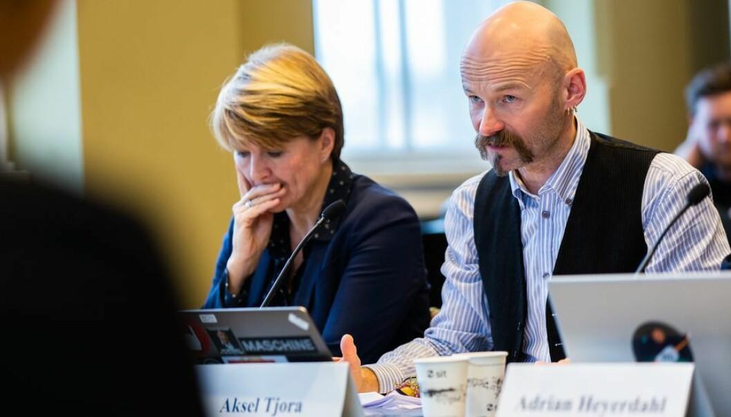 Aksel Tjora og de andre ansattrepresentantene fikk gehør for hva som bør være et ufravikelig krav. Torsdagens styremøte var digitalt. (Arkivfoto)