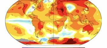 Norge til topps i forskning på klimaendringer