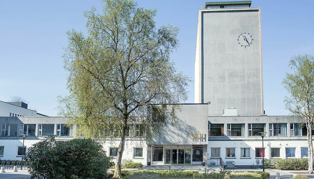 Norges Handelshøyskole er én av utdanningsinstitusjonene som holder stengt.