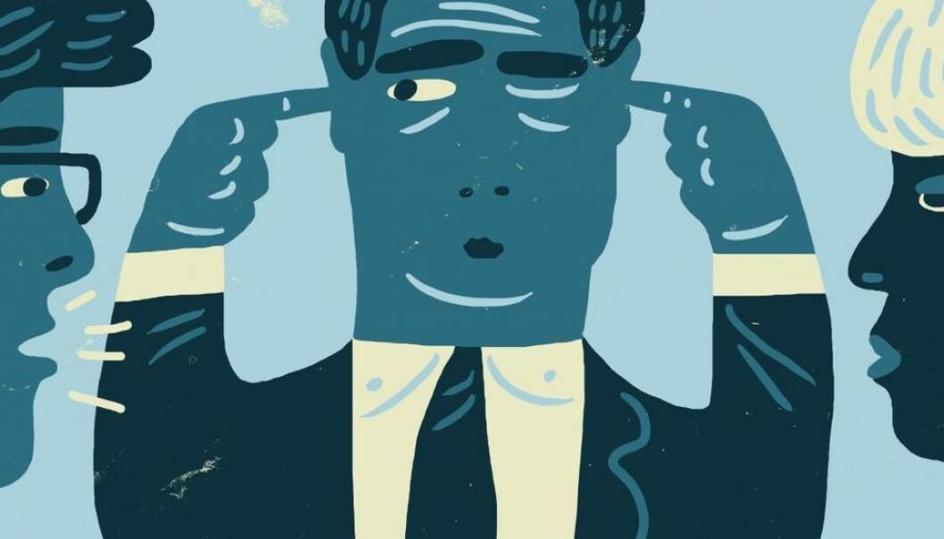 Kritiske røster erfarer stadig oftere at de befinner seg i en situasjon av avmakt.