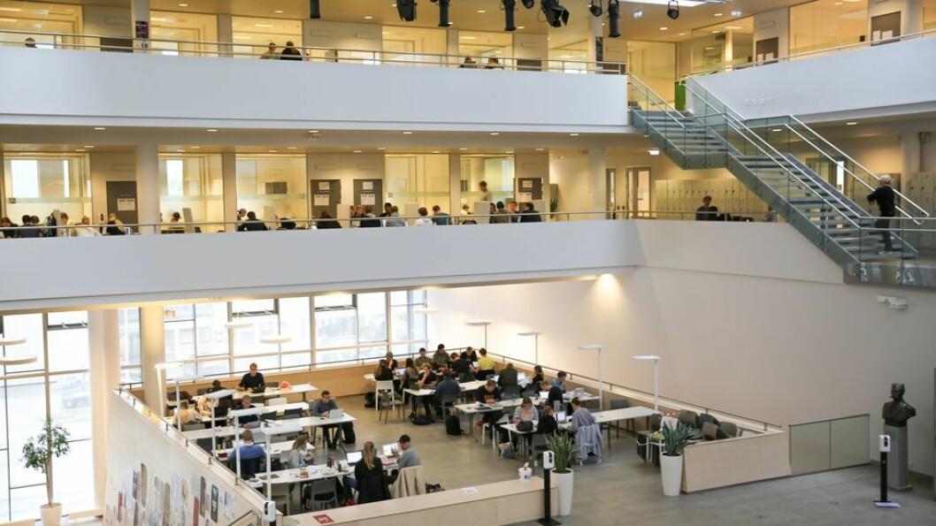 Ifølge student Maria Heggestad, har studenter ved NTNU Handelshøyskolen diskutert med andre studenter om å møte opp på eksamen uansett om de har symptomer. Nå har studentene ved Handelshøyskolen fått bekreftet at alle høsteksamenene blir digitale hjemmeeksamener.