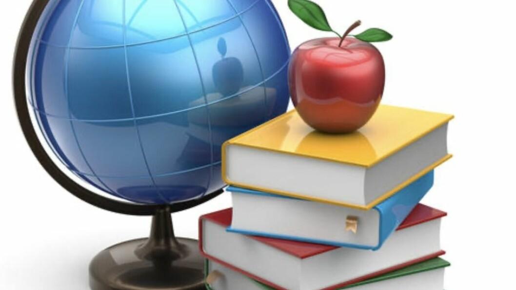 Forskningstermin - med faglitteratur og globen foran seg: Slitne akademikeres våte drøm. For mange er det fjern drøm.