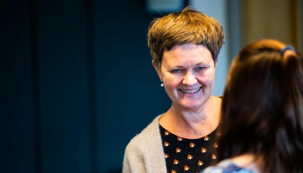 Nå er vi veldig glade for at vi har tre kvinner blant de fire som får tilbud om stillinger i denne omgangen, sier dekan Anne Kristine Børresen. Her fra fakultetstyremøtet som diskuterte mannsdominansen på Filosofi.