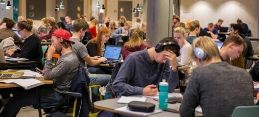 Antall studieplasser stiger raskere enn antall søkere