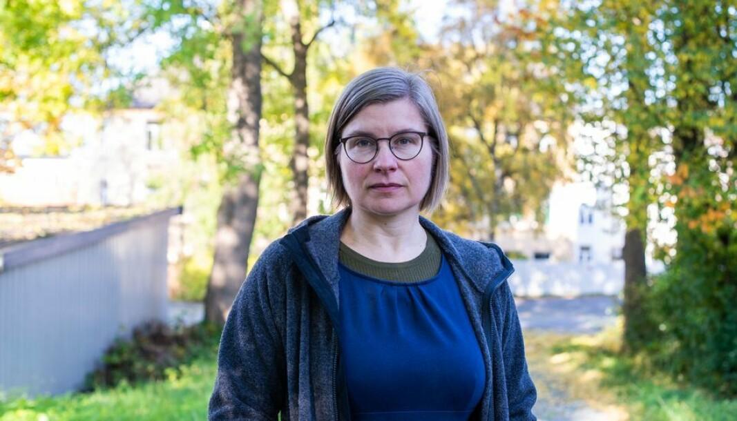 - Diskusjonen foregikk stort sett på et innforstått stammespråk blant koryféer fra ledelse og tillitsvalgtsapparat, skriver Nina Lager Vestberg i denne ytringen.