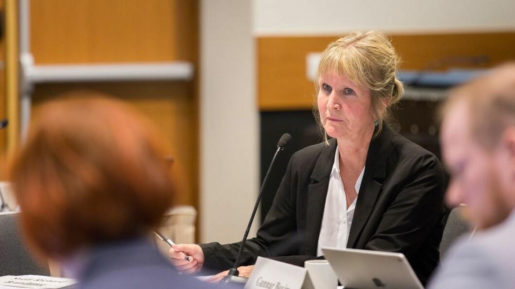 Ida Munkeby orienterte om hvilke nye tiltak NTNU-ledelsen mener må til for å få ned midlertidigheten.