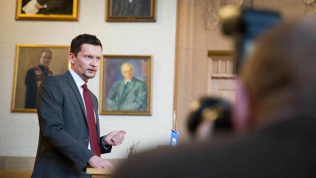 Nokut, her ved administrerende direktør Terje Mørland, ønsker færre forskrifter når ny universitets- og høyskolelov skal jobbes frem.