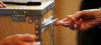 De eldste i en søskenflokk bruker oftere stemmeretten