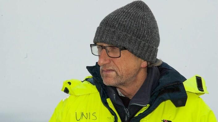 Sveinung Eikeland, viserektor ved UiT - Norges arktiske universitet.