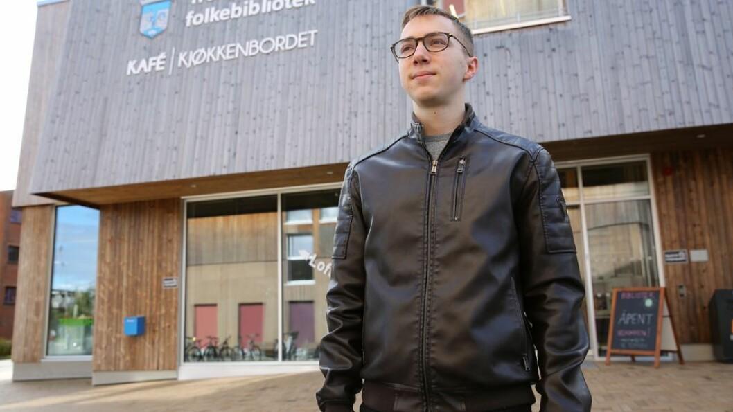Franske Léo Pallas mener forandringen på Moholt studentby er svært merkbar, nå som det bor langt færre utenlandske studenter der.