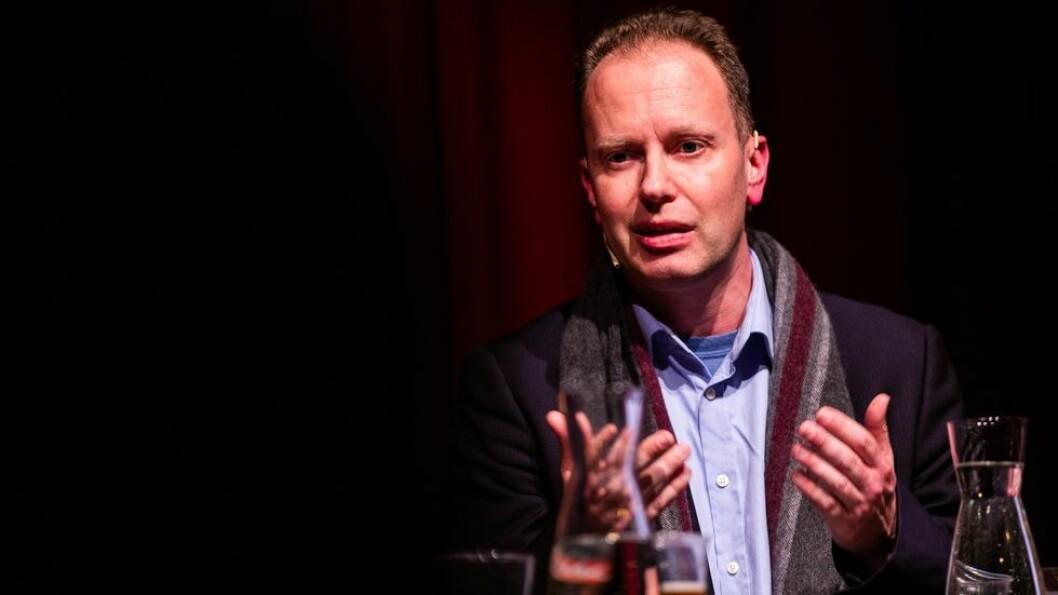 Hovedpersonen. Øyvind Eikrem, her fotografert under Morgenbladets debatt om akademisk ytringsfrihet: - Jeg setter pris på at Rektor er så tydelig på at saken har været håndtert dårlig.