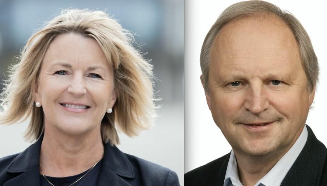 Ingrid Schjølberg er dekan, Kjell Sand prodekan ved Fakultet for informasjonsteknologi og elektroteknikk, NTNU.