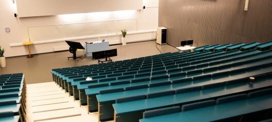 Universitetsansatte har lavere risk for å bli smittet av korona