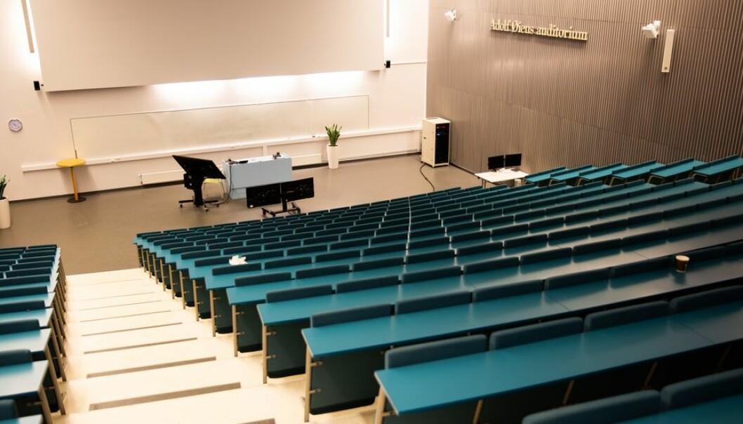 Kanskje får studentene lov til å vende tilbake til auditoriene utover i mars måned.