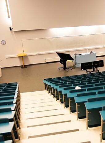Ansatte ved universiteter har lavere risk for å smittes av korona