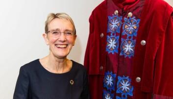 Anne Borg begynte på studier ved universitetet hun senere skulle lede.