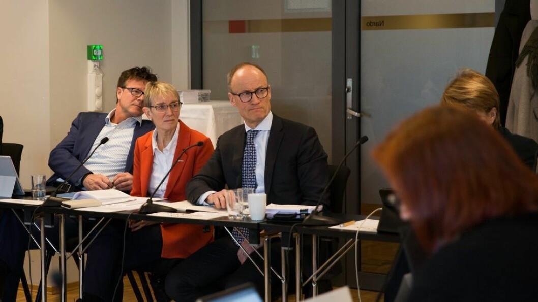 Anne Borg, her avbildet under styremøtet ved NTNU samme dag som beslutningen om å stenge campus ble tatt, har kun deltatt i to av møtene i Sentral beredskapsledelse mellom 12. mars og 29. juni.