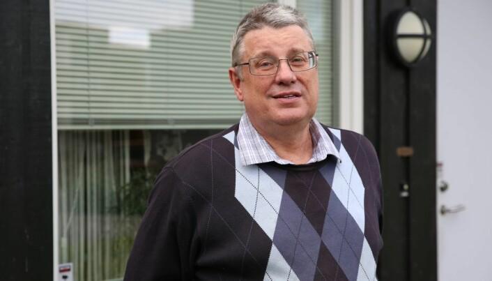 Viggo Gabriel Borg Pedersen sier det er flere steder ved NTNU som ikke har navn på norsk.