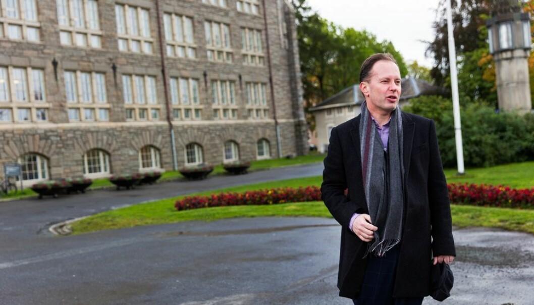 Øyvind Eikrem ønsker å bli instituttleder ved Institutt for sosialt arbeid.