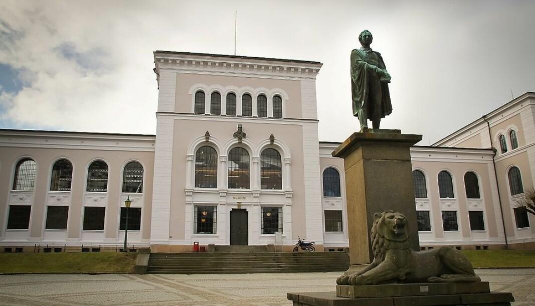 Det har vært et smitteutbrudd på Institutt for fysikk og teknologi ved Universitetet i Bergen (arkivfoto UiB Museumsplassen).