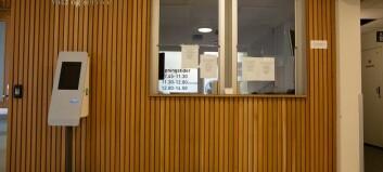 Digital fotoautomat skal opprettholde smittevern på campus