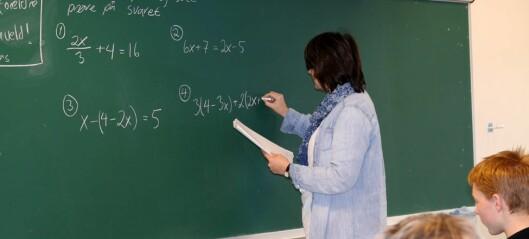 47.000 lærere har fått videreutdanning siden 2014