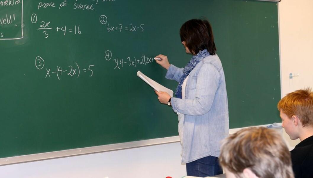 40.000 med lærerutdanning jobber ikke i skolen i dag, ifølge SSB.