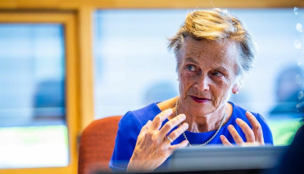 - Vi er fornøyde med å ha kunnet tilsette en velkvalifisert instituttleder ved IFR, sier Kjersti Fløttum