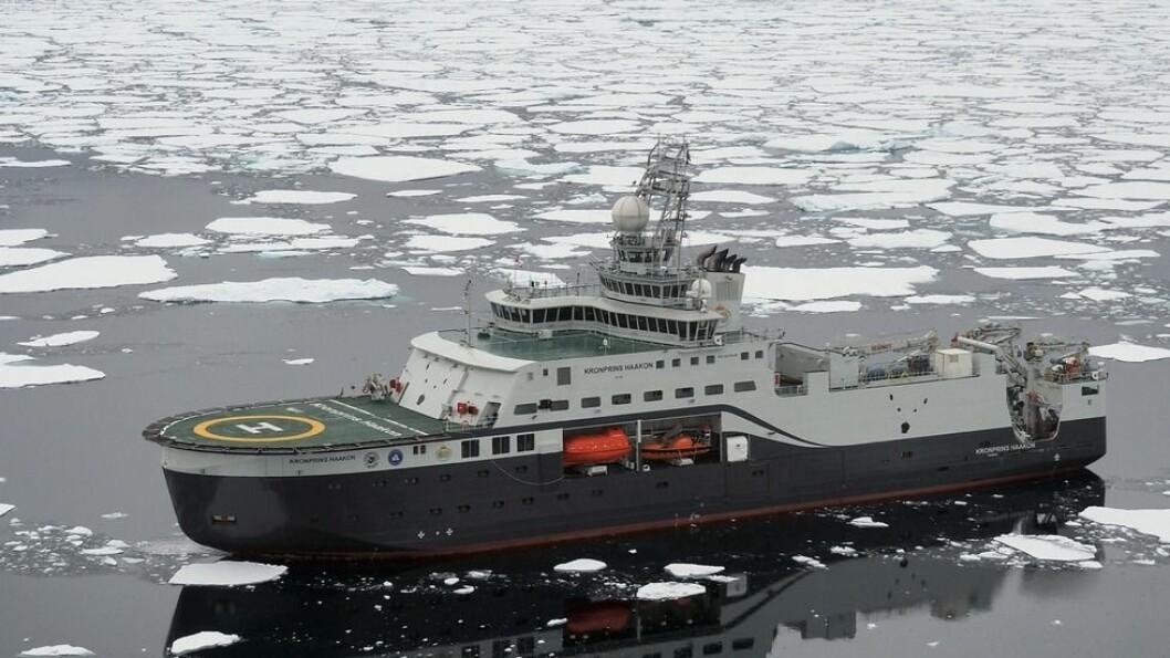 Forsknbingsskipet «Kronprins Haakon» eies av Norsk Polarinstitutt, driftes av Havforskningsinstituttet. Nå er to nye skip vedtatt bygd.