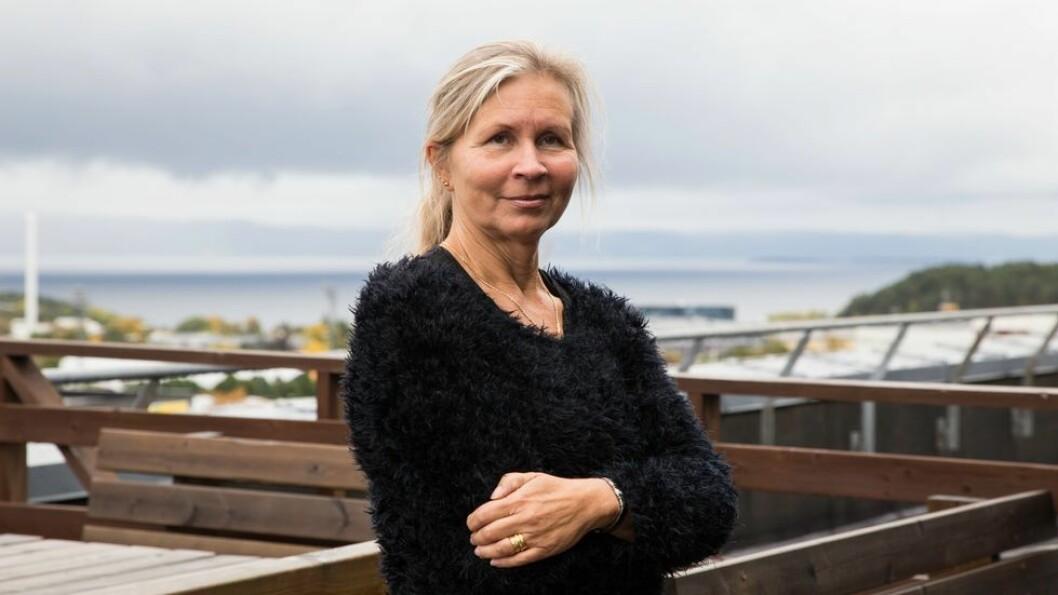 Ann-Katrin Stensdotter sier hun ikke har vært i direkte kontakt med studenten som kan være smittet.