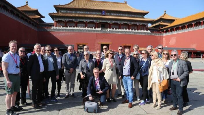 Akademiske turister? Litt, men mest arbeid. Da de besøkte Kina, dro de norske universitets- og høgskolerektorene direkte fra flyplassen til Den himmelske freds plass og inn i den en gang forbudte keiserbyen. Siden var det mest konferansesaler denne gruppen fikk se.