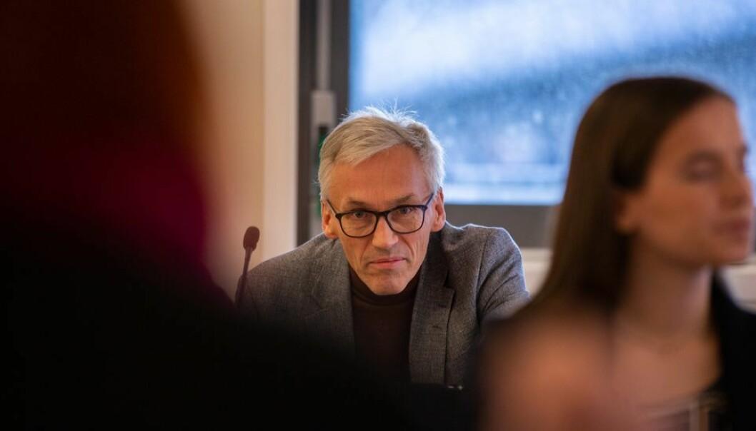 – Vi skal ikke være naive, verken i samarbeidsprosjekter med kinesiske institusjoner eller prosjekter med andre land, sier prorektor Bjarne Foss.