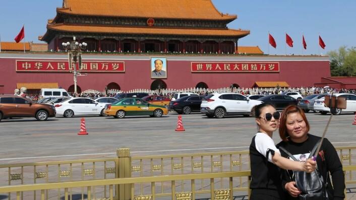 Selfie med formannen. Står Kina foran en æra med en ny leder med tilsvarende lederambisjoner?