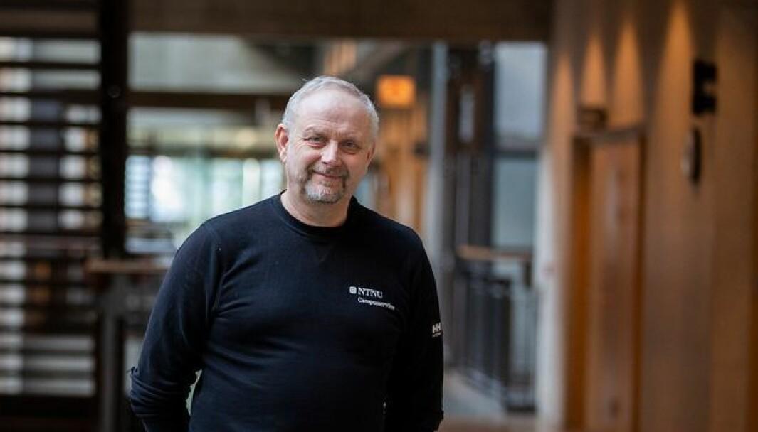 Noen ble igjen da vi andre dro fra campusene. Jan Roar Trøan ønsker å få vist fram hvor viktig de ansatte i Campusservice er for at NTNU-maskineriet skal virke.
