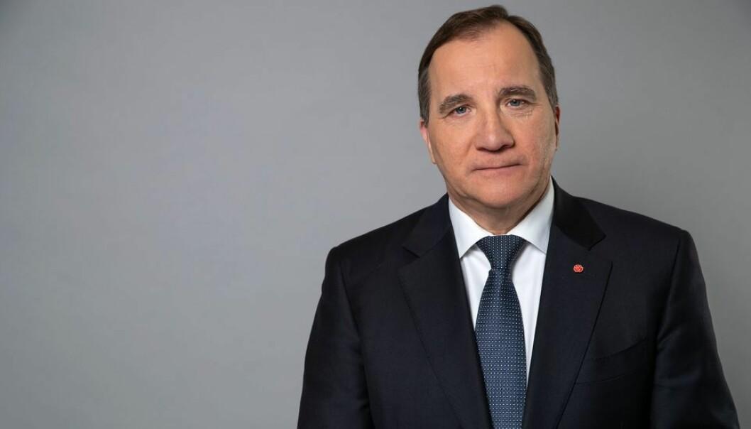 Statsminister Stefan Löfven anbefaler videregående skoler og all høyere utdanning å stenge. Det kan også komme på tale å stenge alle barnehager og barneskoler.
