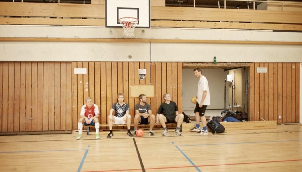 Morgenfugler som trente i idrettsbygget på Gløshaugen én bestemt dag, anbefales å teste seg (Arkivbilde)